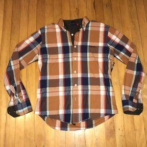 Cobbelti Design Plaid Button Down Shirt